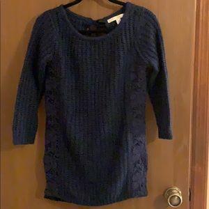 Lauren Conrad Navy blue sweater, XS